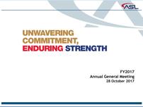 FY2017 Annual General Meeting