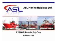 FY2008 Results Briefing